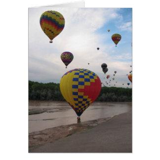 気球のフェスタ カード