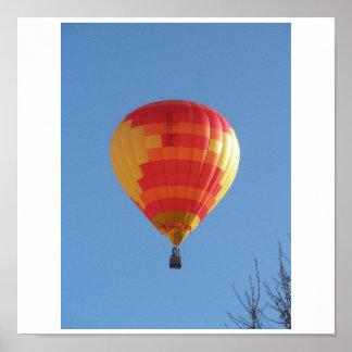 気球の乗車 ポスター