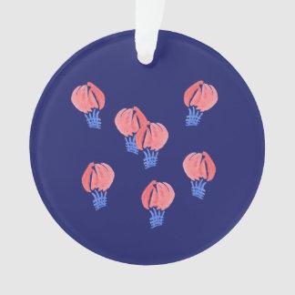 気球の円のオーナメント オーナメント
