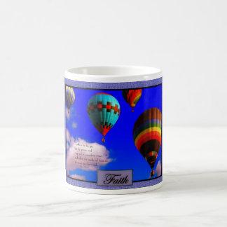 気球の写真撮影の信頼のマグ ベーシックホワイトマグカップ