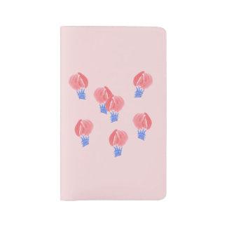 気球の大きいノート ラージMoleskineノートブック