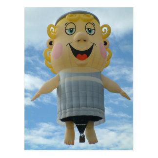 気球の天使 ポストカード