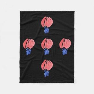 気球の小さいフリースブランケット フリースブランケット