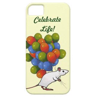 気球の巨大な集りを持つマウスは、祝います iPhone SE/5/5s ケース
