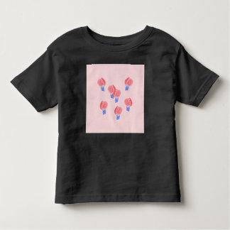 気球の幼児のTシャツ トドラーTシャツ