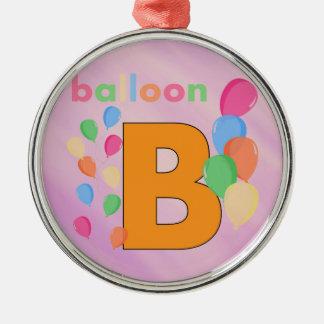 気球の手紙B メタルオーナメント