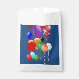 気球の気球のブライダル・シャワーの御馳走菓子のおもちゃ フェイバーバッグ