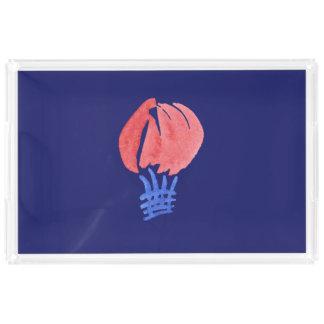 気球の特大長方形のトレイ トレー