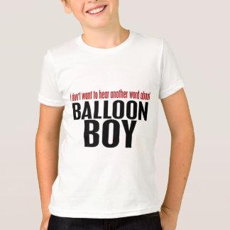 気球の男の子 Tシャツ