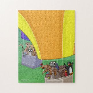 気球猫のジグソーパズル ジグソーパズル