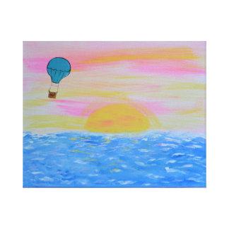 気球 キャンバスプリント