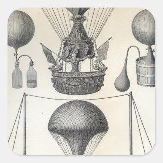 気球 スクエアシール