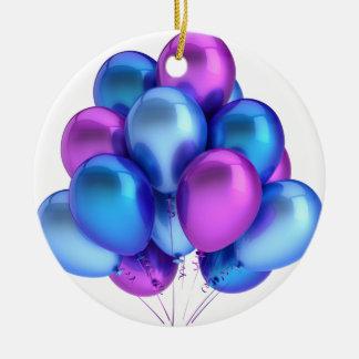 気球 セラミックオーナメント