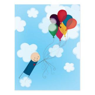 気球 ポストカード