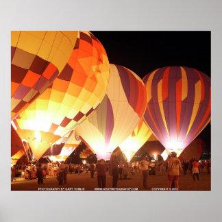 気球Glow/GBTBG257 ポスター