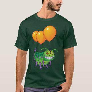 気短かな幼虫 Tシャツ