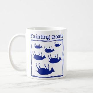 気絶のヤギ コーヒーマグカップ