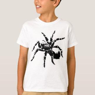 気色悪いタランチュラのデザイン Tシャツ
