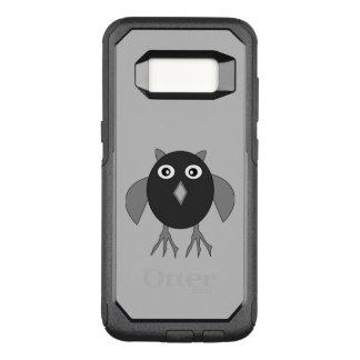 気色悪いハロウィンのフクロウの電話箱 オッターボックスコミューターSamsung GALAXY S8 ケース