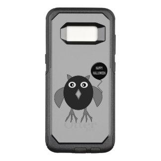 気色悪いハローウィンパーティのフクロウの電話箱 オッターボックスコミューターSamsung GALAXY S8 ケース