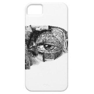 気色悪いヴィンテージの眼球の解剖学の図表の場合 iPhone SE/5/5s ケース