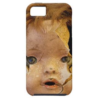 気色悪い人形の顔 iPhone 5 COVER
