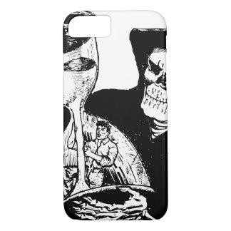 気色悪い死神の砂時計のヴィンテージ iPhone 8/7ケース