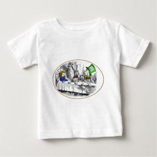 気違いのお茶会 ベビーTシャツ