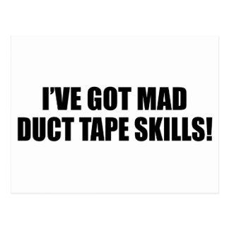 気違いのガムテープの技術 はがき