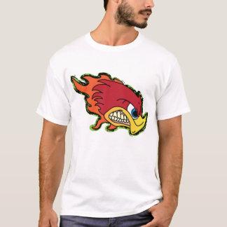 気違いのキツツキのティー Tシャツ