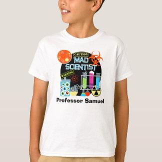 気違いの科学者によってカスタマイズTシャツ Tシャツ