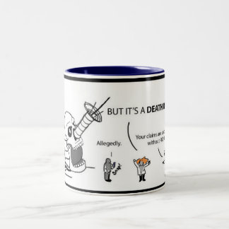 気違いの科学者の月例喜劇的なDeathrayのマグ ツートーンマグカップ
