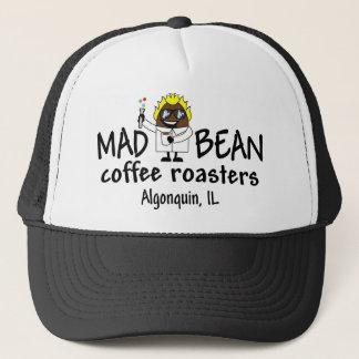 気違いの豆のロゴの衣服 キャップ