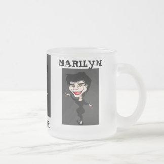 気違いの鏡マリリン フロストグラスマグカップ