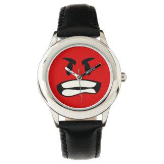 気違いのbroか。 激怒のemoji 腕時計
