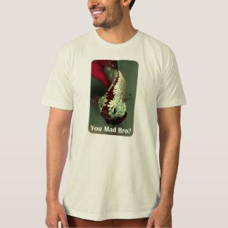 気違いのBroか。 男性Bettaの熱狂するなTシャツ Tシャツ