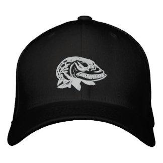 気違いのMuskyロゴの野球帽を刺繍して下さい 刺繍入りキャップ