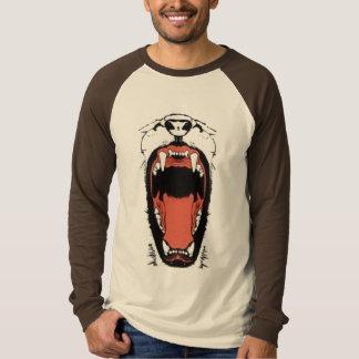 気違い猫 Tシャツ
