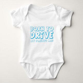 -気違い私の親を運転するために生まれて下さい! ベビーボディスーツ