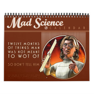 気違い科学のカレンダー カレンダー