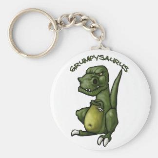 気難しいがあっているGrumpysaurusの恐竜! キーホルダー