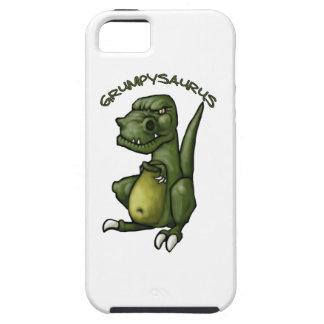 気難しいがあっているGrumpysaurusの恐竜! iPhone SE/5/5s ケース