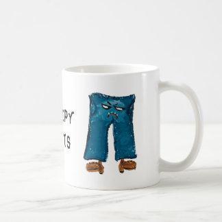 気難しいズボンのコーヒー・マグ コーヒーマグカップ