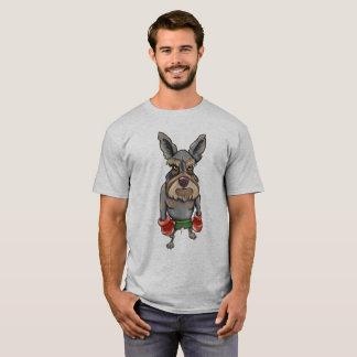 気難しいテリア Tシャツ