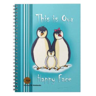 気難しいパイノート-ペンギン ノートブック