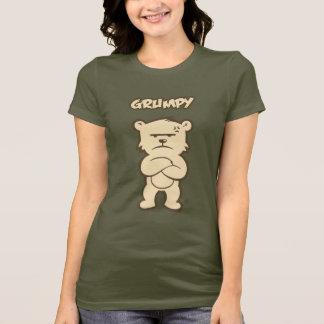 気難しい女性 Tシャツ