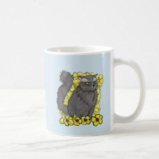 気難しい子猫のマグの平野 コーヒーマグカップ