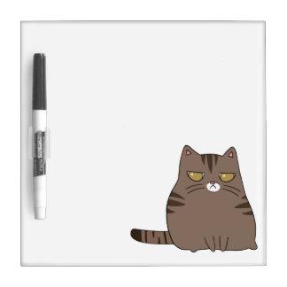 気難しい子猫 ホワイトボード