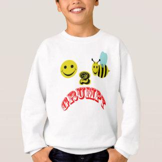 気難しい幸せな2蜂 スウェットシャツ