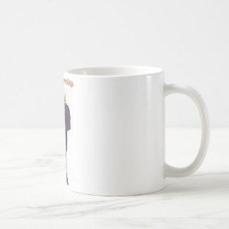 気難しい火星人 コーヒーマグカップ